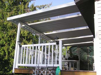 Aluminum Awnings from AAwnings and Sunrooms - where